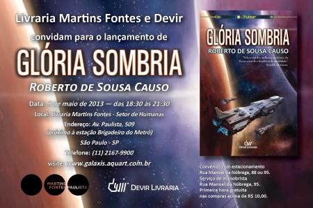 Convite_gloria sombria
